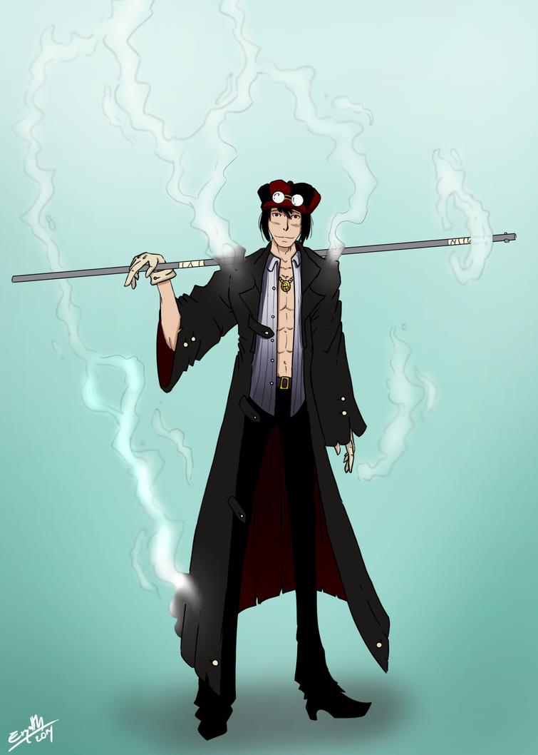 One Piece character - London by ErgotthVonHohenheim on DeviantArt