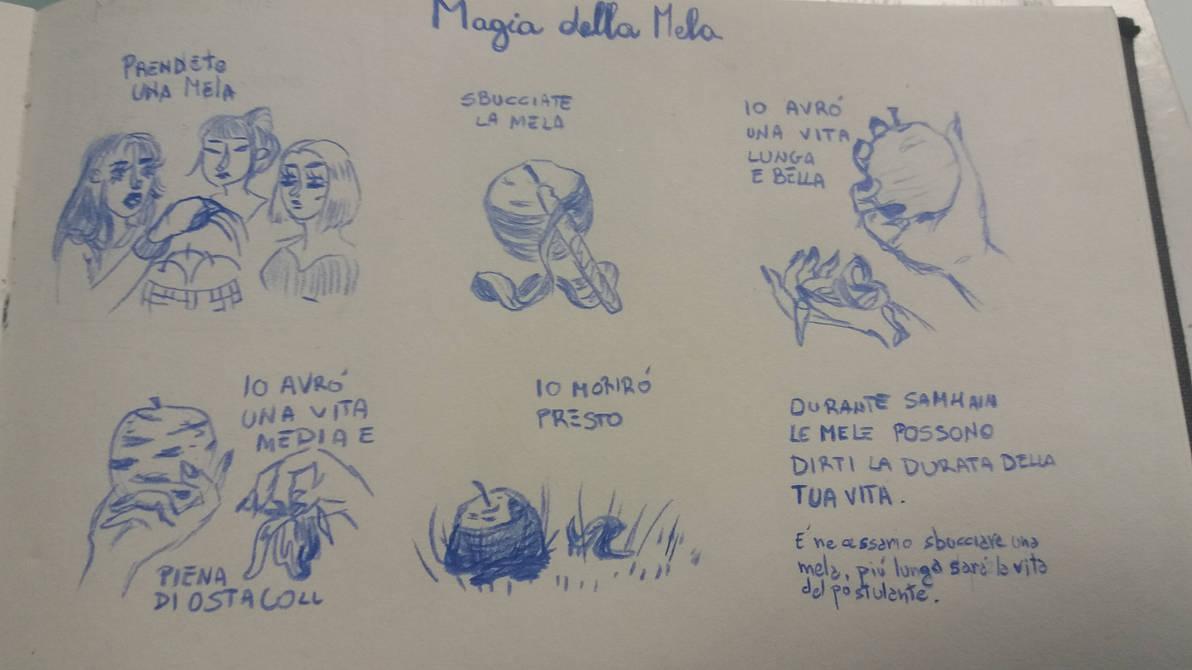the magic of the apple / la magia della mela by Annica9