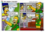 LoZ Simpson parody 1