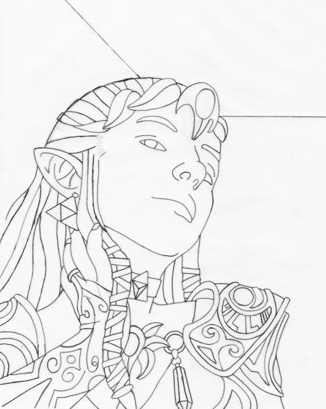 Line Art Zelda : Loz zelda line art by ljinx on deviantart