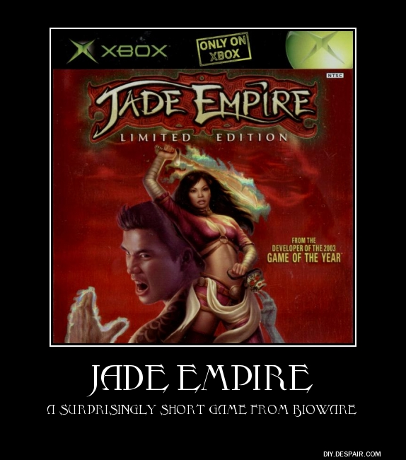 Снимок #16 из игры jade empire: special edition