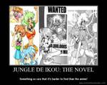 Jungle de Ikou Motivational Poster 2