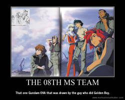 The 08th MS Team Motivational Poster