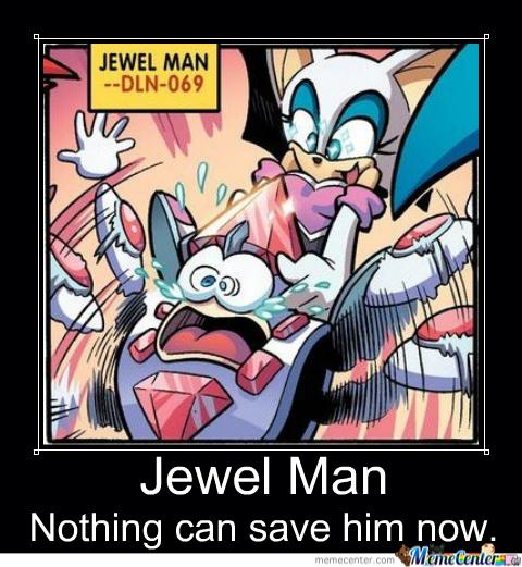 Sonic x Mega Man Motivational Poster by slyboyseth