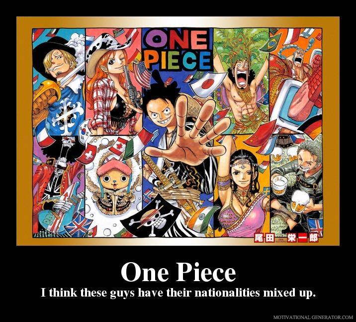 One Piece Motivational Poster 45 By Slyboyseth