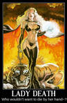 Lady Death Motivational Poster