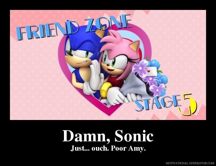 Sonic The Hedgehog Motivational Poster By Slyboyseth On Deviantart