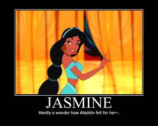 Jasmine Motivational Poster 2 by slyboyseth