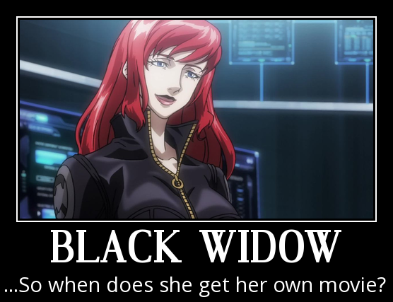 Black Widow Motivational Poster 3 by slyboyseth