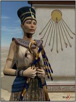 Nefer-neferu-Aton by deadheart82