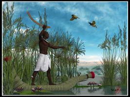 Nile hunter by deadheart82