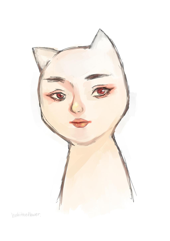 Cat by hobitheflower