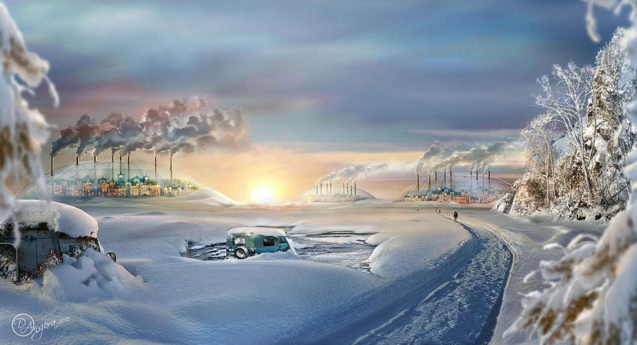 The cold world. After the apocalypse by An-gora