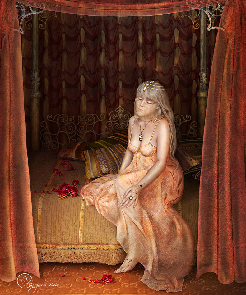 In the harem of the Sultan by An-gora