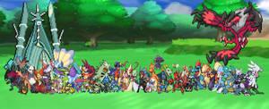 My Pokemon Group Photo