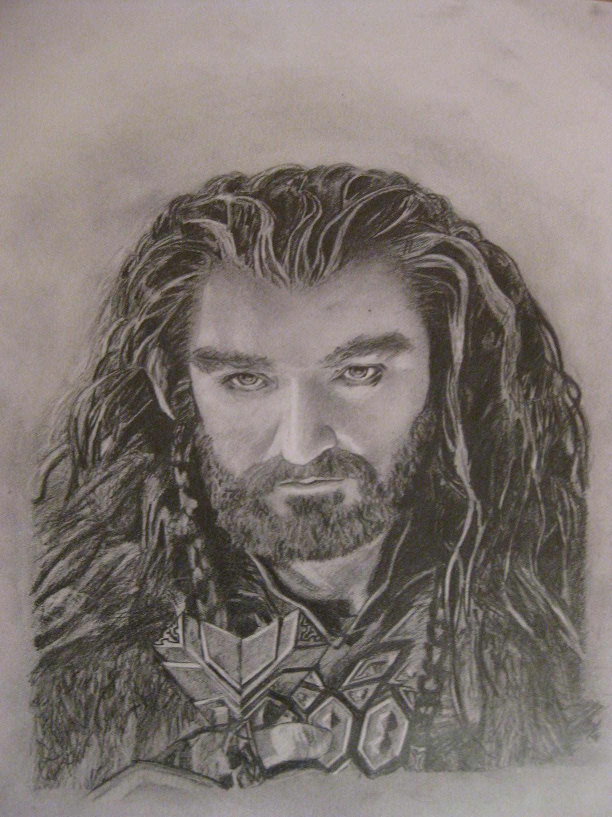 Thorin Oakenshield by Veiron