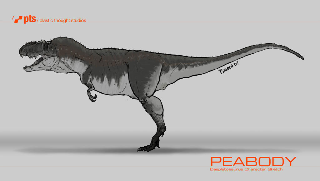 Daspletosaurus, Peabody by tsieben