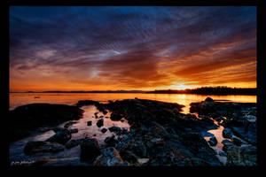 Sundown on Victora by jay-peg