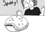 Spotty is Dead! ...Or not. by PookNero