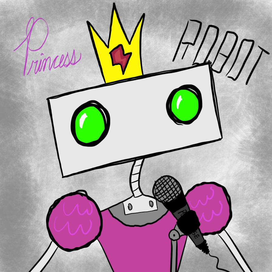Princess Robot by PianoPonky