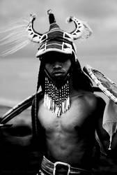 Caci Warrior