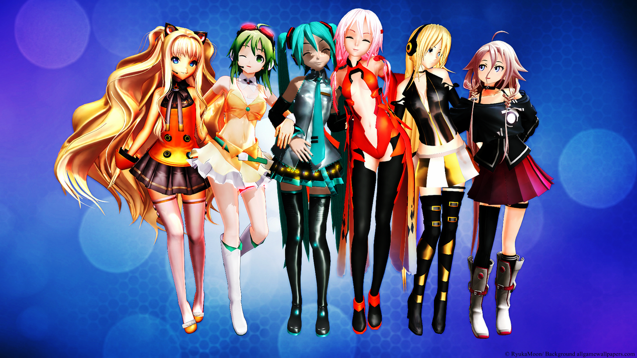 image Vocaloid ia mmd cute whore