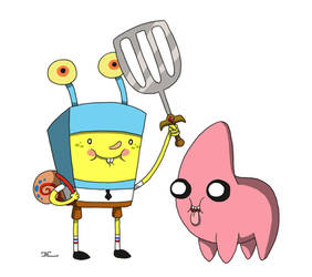 spongebob time by ZheSyt