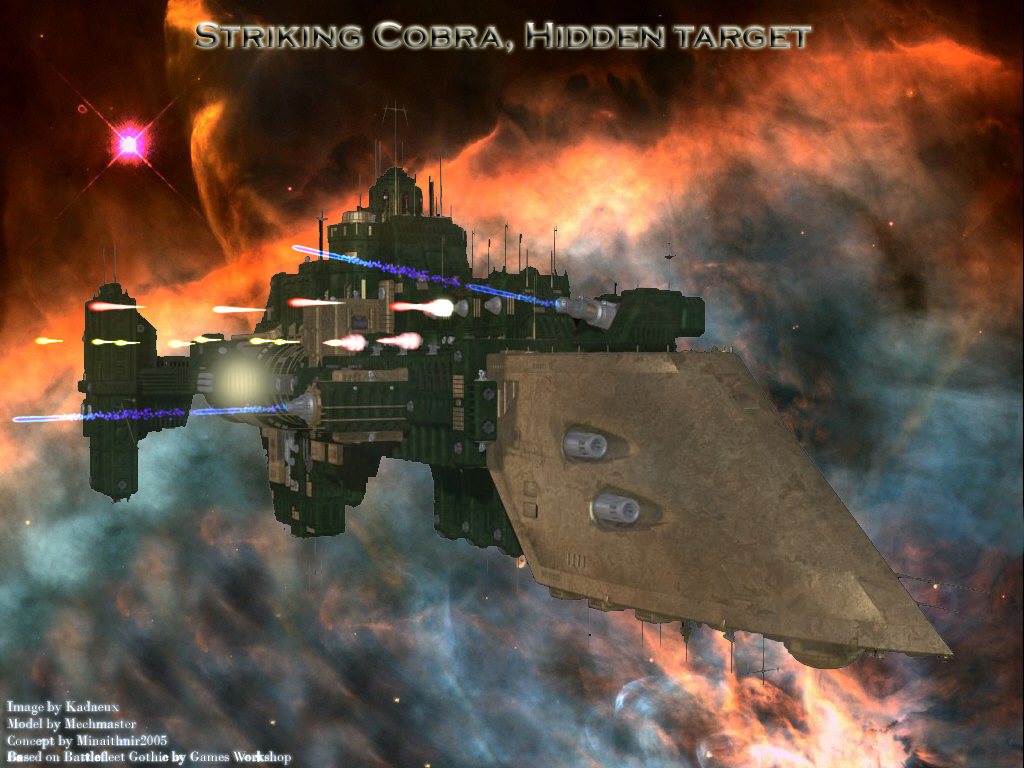 Striking Cobra, Hidden Target by kadaeux