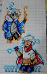 UT||Sans and Papyrus