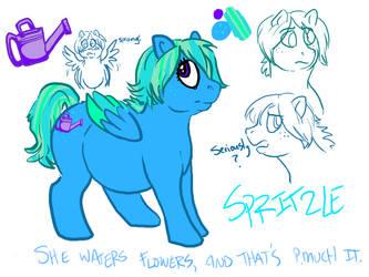 MLP:FiM -- Spritzle concept by tigglespits