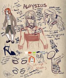 Aloysius -- Quick Ref by tigglespits