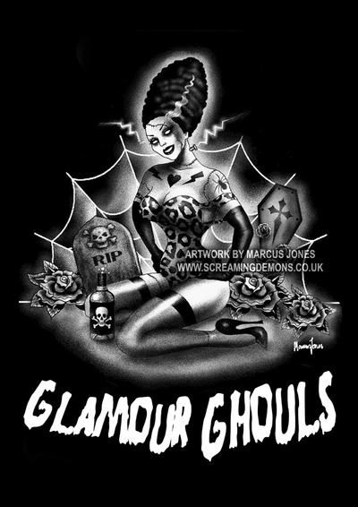 Glamour Ghouls by MarcusJones
