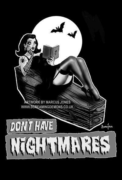 Don't Have Nightmares by MarcusJones