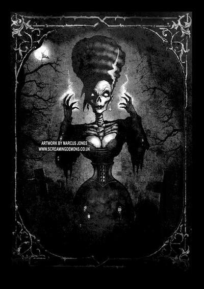 Zombie Gothic by MarcusJones