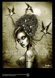 Bird Girl by MarcusJones