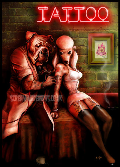 Tattoo Parlour by MarcusJones