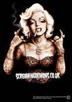Marilyn Monroe Gangster Style