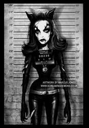 Catwoman Mugshot by MarcusJones