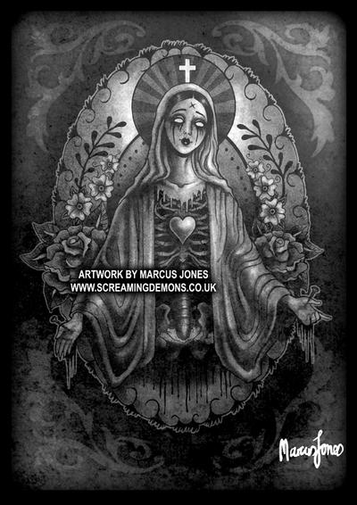 Tattoo Mary by MarcusJones