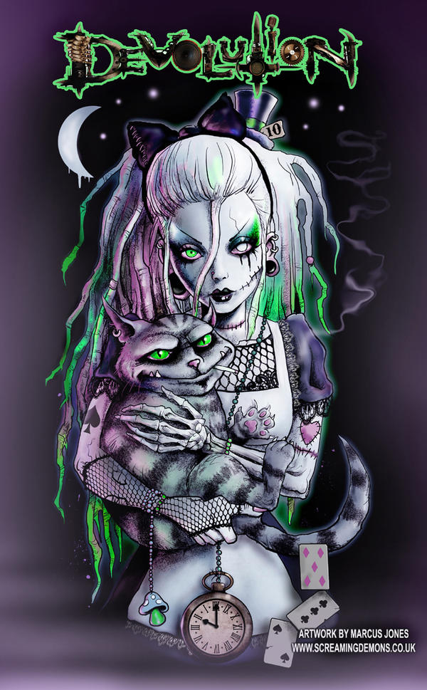 Gothic Alice for...Zombie Disney Characters Tattoos