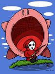 When a Shyguy go fishing... by Prickblad
