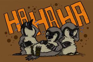 Mocking Birds by Prickblad