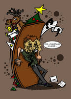 24 - Christmas is here by Prickblad