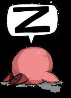 Sleeping Kirby by Prickblad