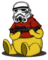 Pooh the Stormtrooper by Prickblad