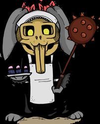 Killer Rabbit Maid by Prickblad