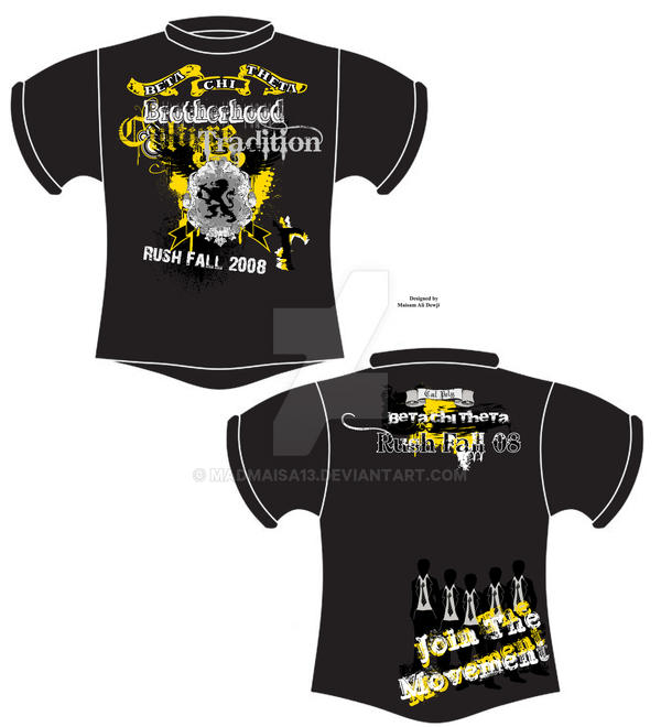 Fraternity rush tshirt design by madmaisa13 on deviantart for Southern fraternity rush shirts