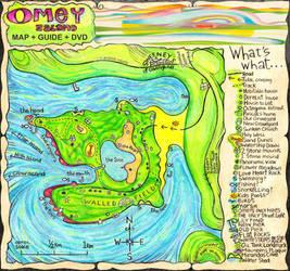 Omey Island Map by bango