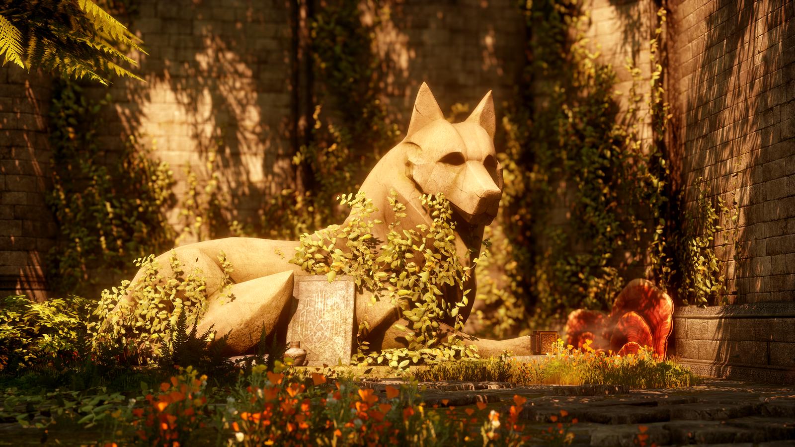 Dragon Age Inquisition Trespasser Winter Palace Dog Treats