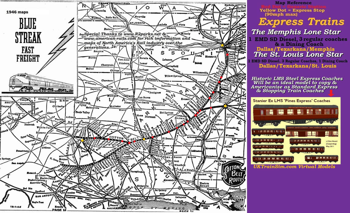 Fictionalized Historic Cotton Belt RR map by BorisFedorov on ... on northwestern pacific railroad map, arizona & california railroad map, central pacific railroad map, loram railroad map, new haven railroad map, ontario northland railroad map, texas railroad map, jersey central railroad map, union pacific railroad map, florida east coast railroad map, penn central railroad map, the underground railroad map, cotton production 1860 map, long island railroad map, sp railroad map, frisco railroad map, chicago & northwestern railroad map, buffalo & pittsburgh railroad map, cancer belt map, parchman farm mississippi map,